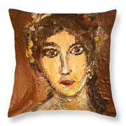 Portrait Throw Pillow