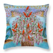 Prosperity And Blessing Throw Pillow