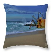 3- Pump House Throw Pillow