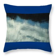 Quarry Reflections II Throw Pillow