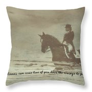 Reflection Quote Throw Pillow