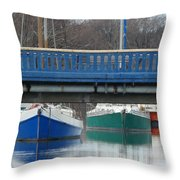 3 Reflections Throw Pillow
