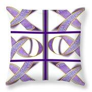 ribbon of Change Throw Pillow