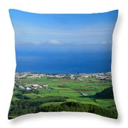 Ribeira Grande - Azores Throw Pillow