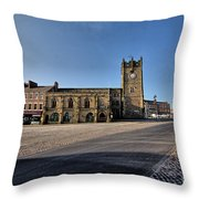 Richmond, North Yorkshire Throw Pillow
