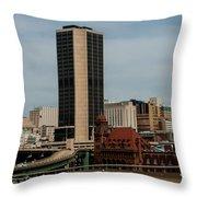 Richmond Virginia Architecture Throw Pillow