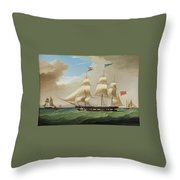 Roger Stewart Throw Pillow