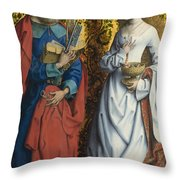 Saints Peter And Dorothy Throw Pillow