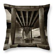 San Marco Bridge Throw Pillow