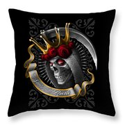 Santa Muerte Throw Pillow