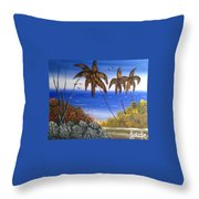Seescape  Throw Pillow