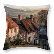 Shaftesbury - England Throw Pillow