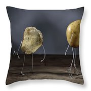 Simple Things - Potatoes Throw Pillow