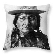 Sitting Bull (1834-1890) Throw Pillow