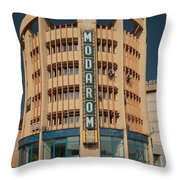 Socialistic Architecture Throw Pillow