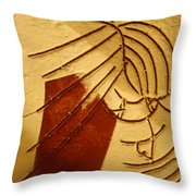 Solemn - Tile Throw Pillow