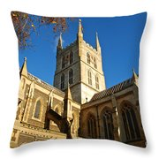 Southwark Cathedral Throw Pillow