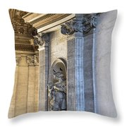St Peter's Basilica Throw Pillow