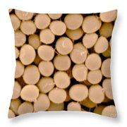 Staphylococcus Capitis Bacteria, Sem Throw Pillow