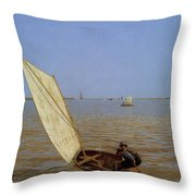 Starting Out After Rail Throw Pillow