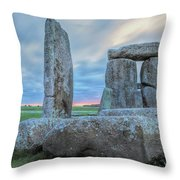Stonehenge - England Throw Pillow