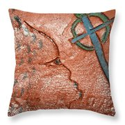 Strength - Tile Throw Pillow