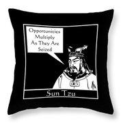 Sun Tzu Throw Pillow