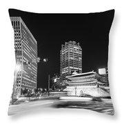 Sungnyemun Gate In Seoul Throw Pillow
