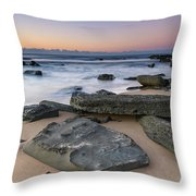 Sunrise And The Sea Throw Pillow