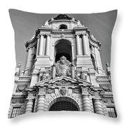 The Beautiful Pasadena City Hall. Throw Pillow