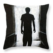 The Exit Throw Pillow