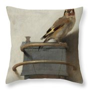 The Goldfinch Throw Pillow
