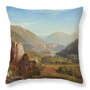 The Juniata, Evening Throw Pillow