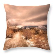 The Kvr Collection Throw Pillow