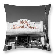 The Likely General Store - California  Throw Pillow