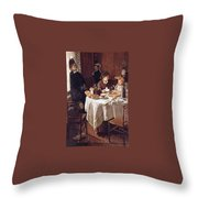 The Luncheon Throw Pillow