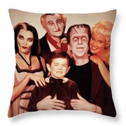 The Munsters Throw Pillow