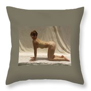 The Net Throw Pillow