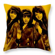 The Ronettes Collection Throw Pillow