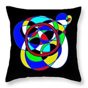 The Square I. Throw Pillow