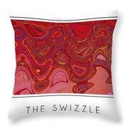 The Swizzle Throw Pillow