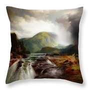 The Wilds Of Lake Superior Throw Pillow