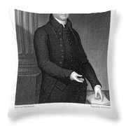 Timothy Dwight (1752-1817) Throw Pillow