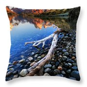 Torres Del Paine 001 Throw Pillow