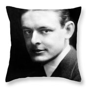T.s. Eliot (1888-1965) Throw Pillow