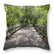 Turkey Creek Throw Pillow