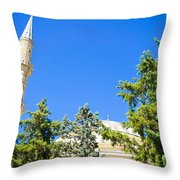 Turkish Mosque Throw Pillow