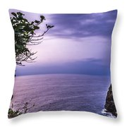 Uluwatu Temple Throw Pillow