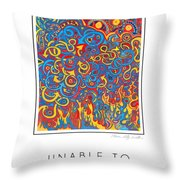 Unable To Make A Decision Throw Pillow