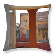 Untitled Building Throw Pillow